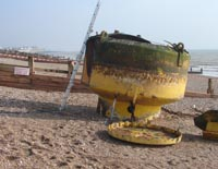 beach bouy recovery and inspection